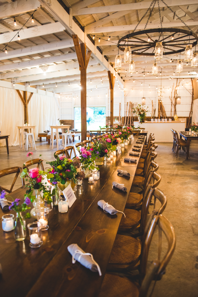 gorgeous farm farmhouse tables floral centerpieces