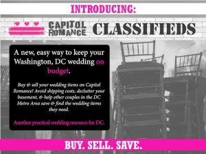 affordable dc wedding buy sell used wedding goods decor dresses accessories