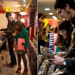 Mike & Sam's DC Record Store Engagement Session in Adams Morgan