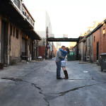 Kali & Jason's Alternative, Grungy Washington DC Engagement Session at Union Market
