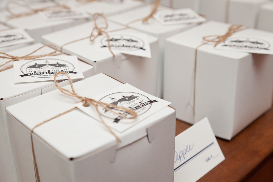 georgetown pie shop wedding favors