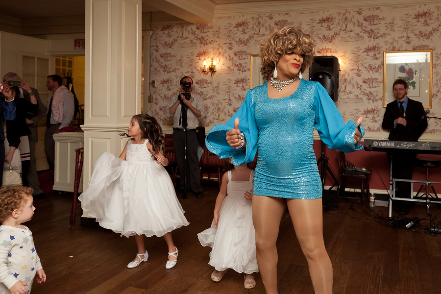 tina turner drag queen dc wedding