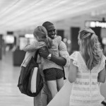 Katie & Wyatt's Post-Deployment Engagement Session at Dulles Airport