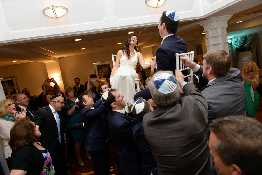 offbeat alternative nautical maryland Jewish wedding