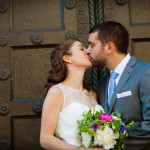 Jenn & Dan's Intimate, Modern & Local DC Wedding at the Tabard Inn