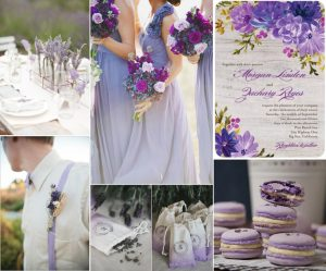 Pantone Violet Tulip Wedding Inspiration Details Pictures