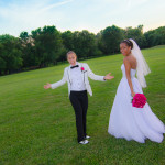 Ophelia & Ana's Hot Pink & Black Maryland Wedding at Ceresville Mansion