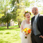 Kristin & Tyler's Brightly Colored, Whitehall Manor Wedding in Leesburg