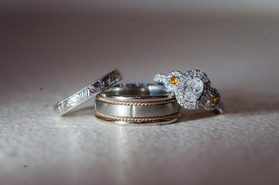 unique virginia wedding rings