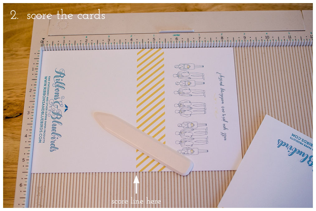 wedding party cards-diy3