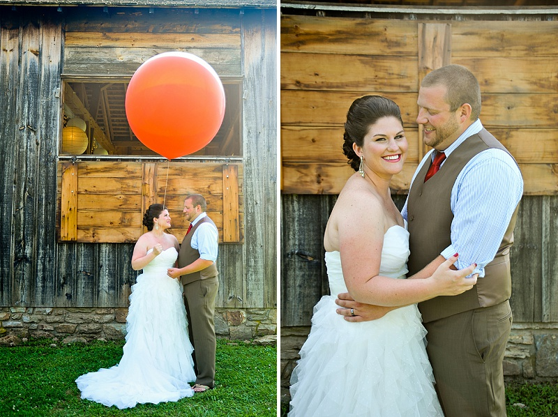 vintage carnival maryland wedding