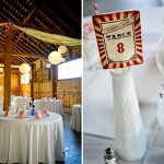 Margaret & Justin's Vintage Carnival Themed Wedding at Union Mills