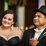 Jadene & Freddy's Offbeat, Black & White Virginia Wedding at Rosemont Manor