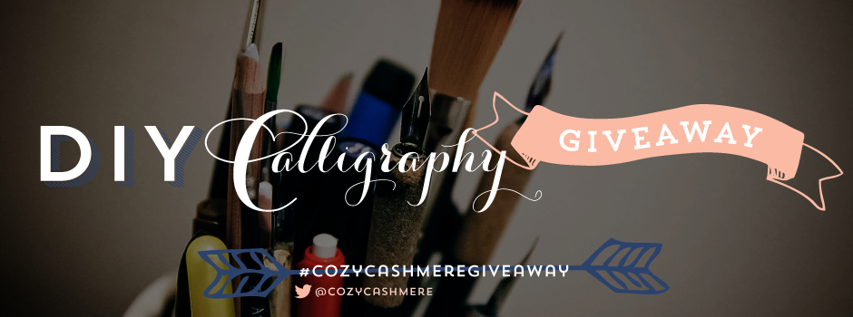CozyCashmere-Calligraphy-Giveaway-Banner