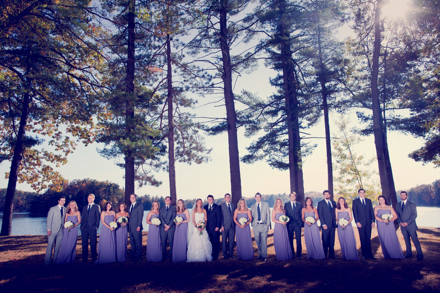 stunning rustic michigan wedding
