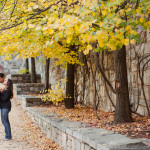 Chris & Mandy's Laid-Back Washington DC Engagement Pictures in Georgetown