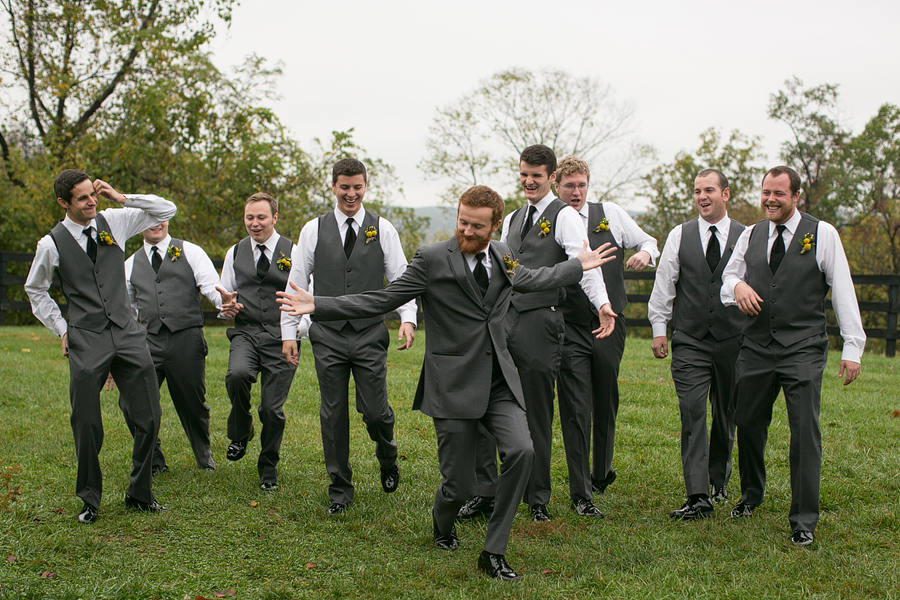 groomsmen charcoal grey vests