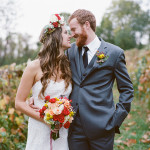 Alexa & Tucker's Whimsical, Boho Fall Wedding at Bluemont Vineyard in Virginia