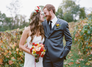 whimsical boho fall weding bluemont vineyard virginia