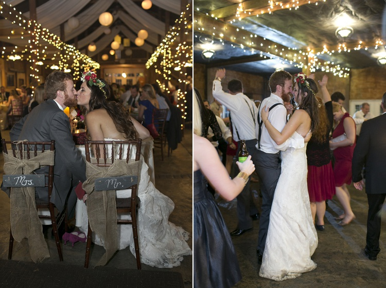 rustic boho wedding first dance