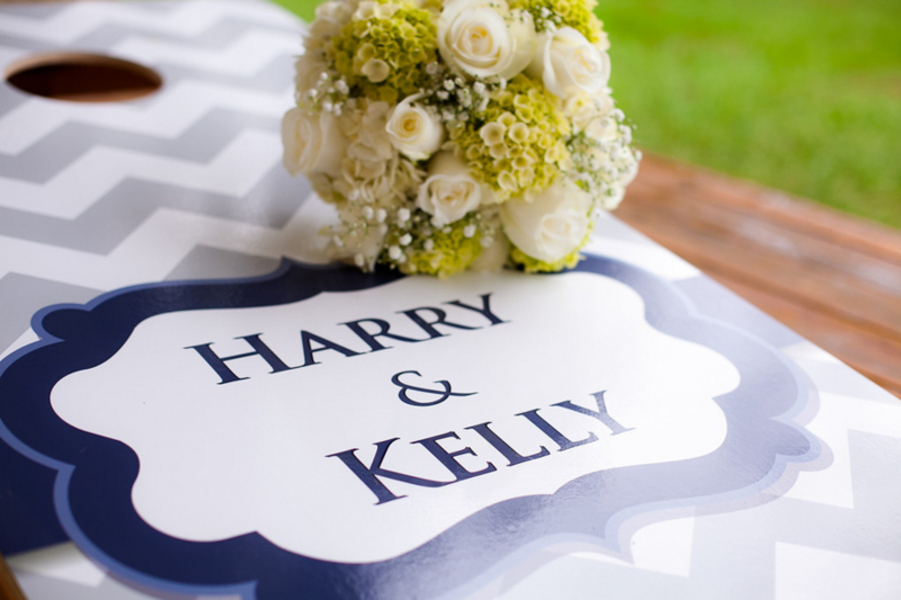 chevron wedding aisle runner