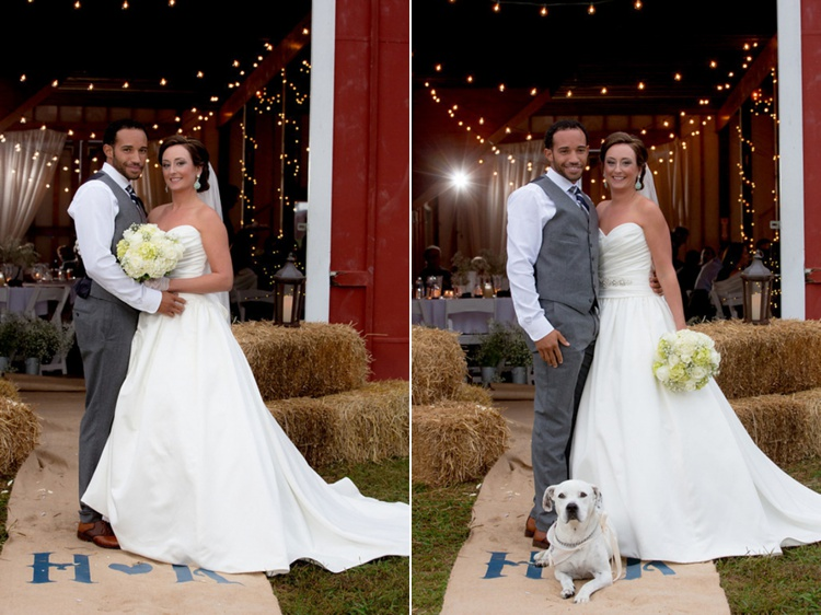 rustic modern virginia barn wedding