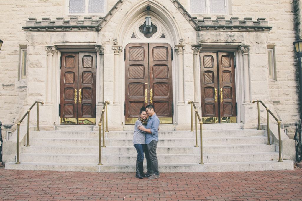 old town alexandria alternative engagement pictures