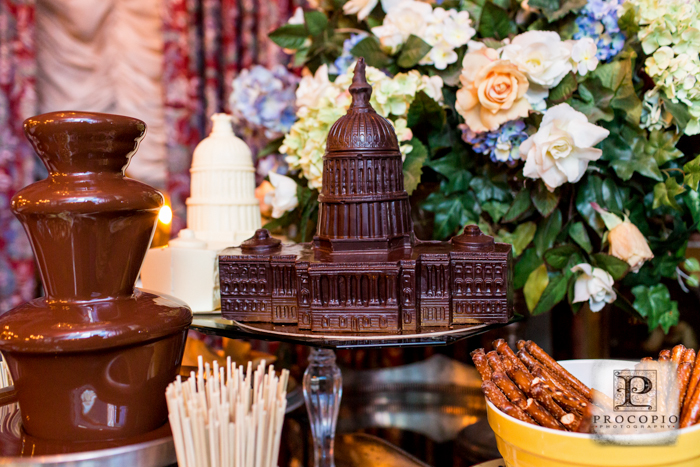dc themed chocolate molds wedding