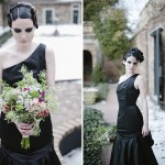 Capitol Inspiration: Gothic Bridal Portraits & Inspiration at the Edgar Allen Poe Museum