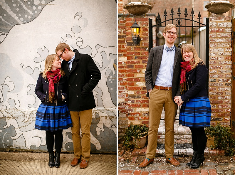 washington dc engagement pictures in georgetown