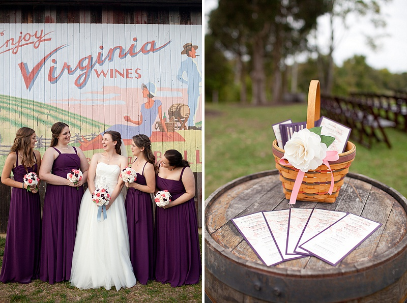 DIY Northern Virginia wedding Bull Run Winery