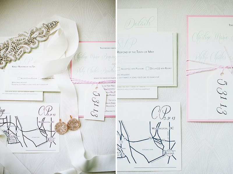 washington dc wedding invitations
