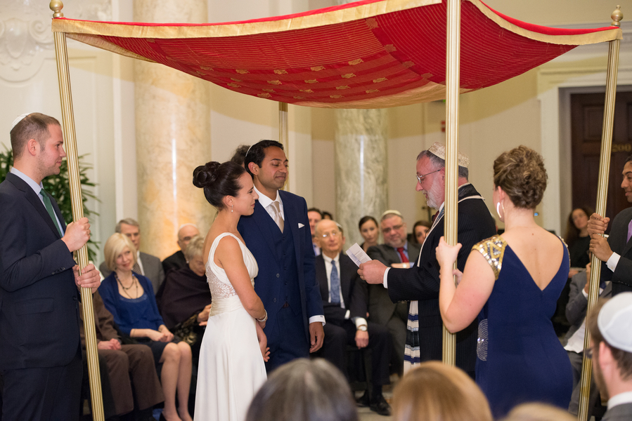 intimate jewish wedding ceremony DC