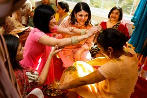 turmeric pre-wedding ceremony