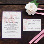 Super Easy Wedding Invitation Timeline Download from The Peacock Press