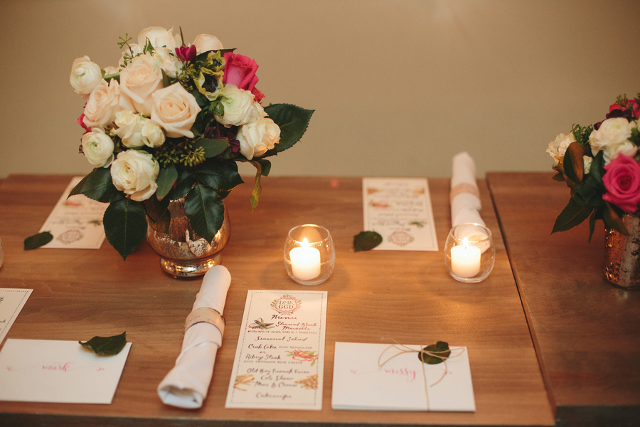 intimate modern DC wedding Hanks Oyster Bar