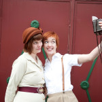 Victoria & Jacqueline's Vintage-loving Glen Echo Park Anniversary Session