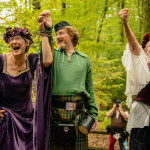 Chuck & Marcia's Renaissance Fair, Handfasting Ceremony in Maryland