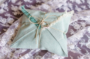 DIY ring bearer pillow tutorial