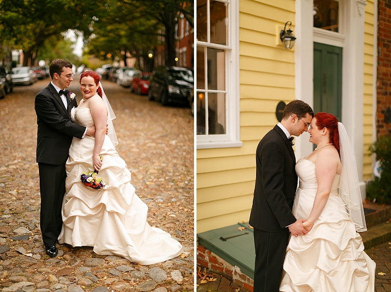 offbeat film literature themed Virginia wedding