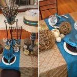 Creative & Alternative Flowerless Wedding Tablescapes and Decorations