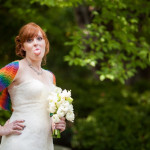 Eliza & Josh's Rainbow Colored, DIY, Book Themed Wedding in Maryland