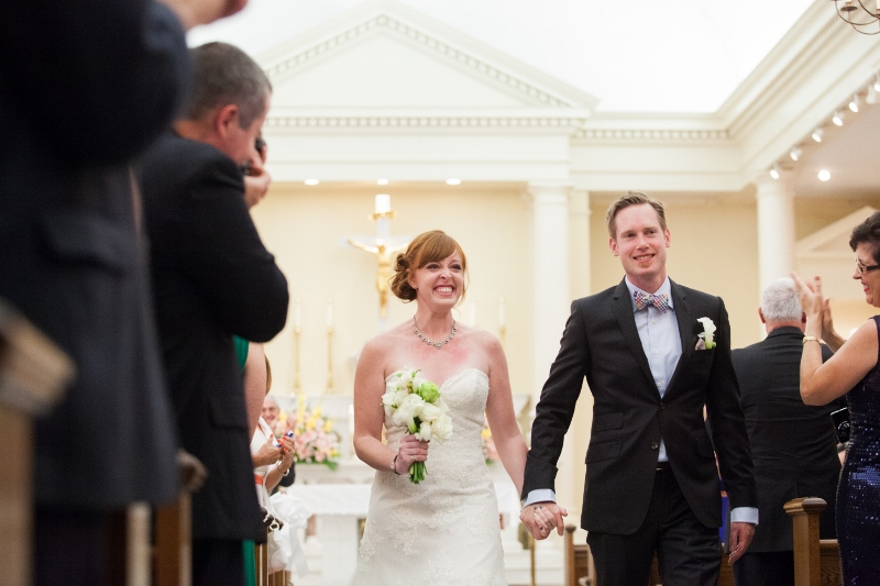 DIY offbeat Maryland wedding ceremony