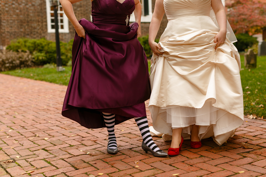 wizard of oz bride bridesmaid