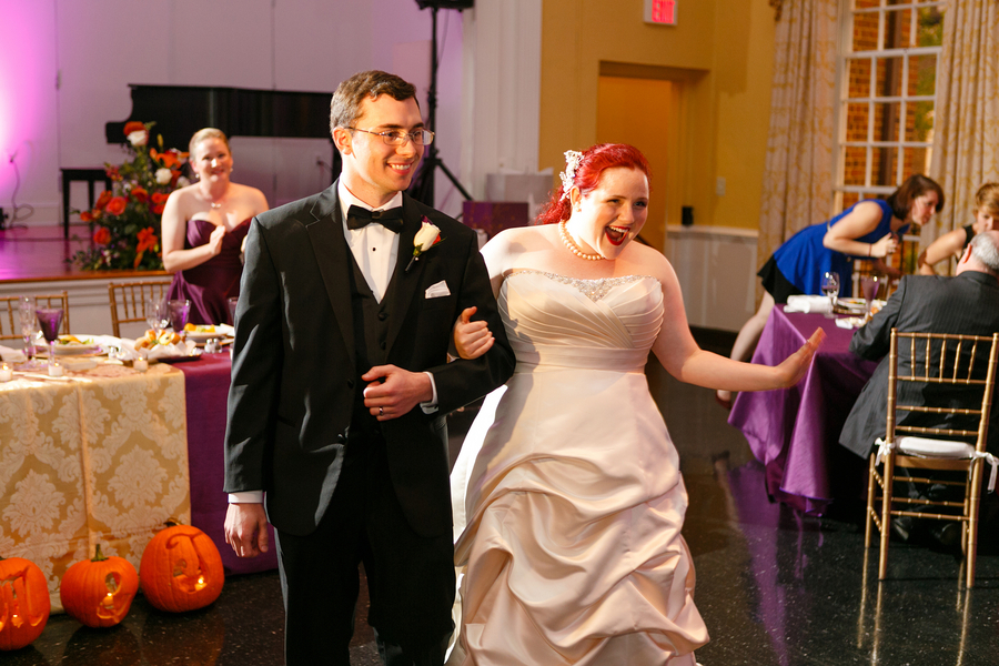 offbeat Virginia movie themed wedding