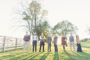 rustic personalized same sex maryland wedding