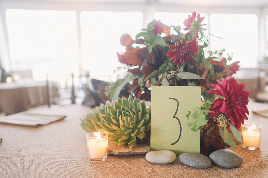 natural organic wedding centerpieces
