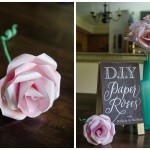 DIY Tutorial: How to Make a Water Color Paper Rose