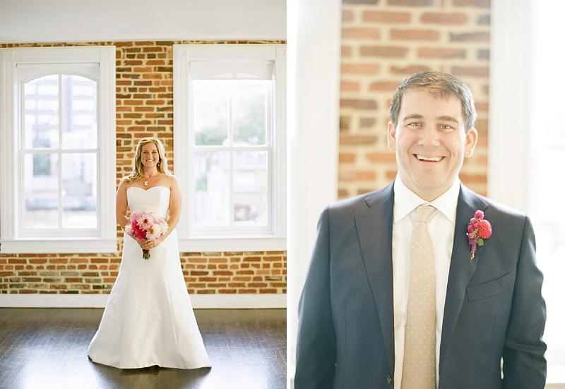 modern DC bride groom