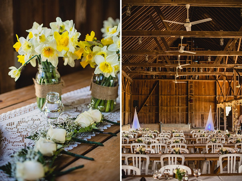 rustic diy maryland barn wedding